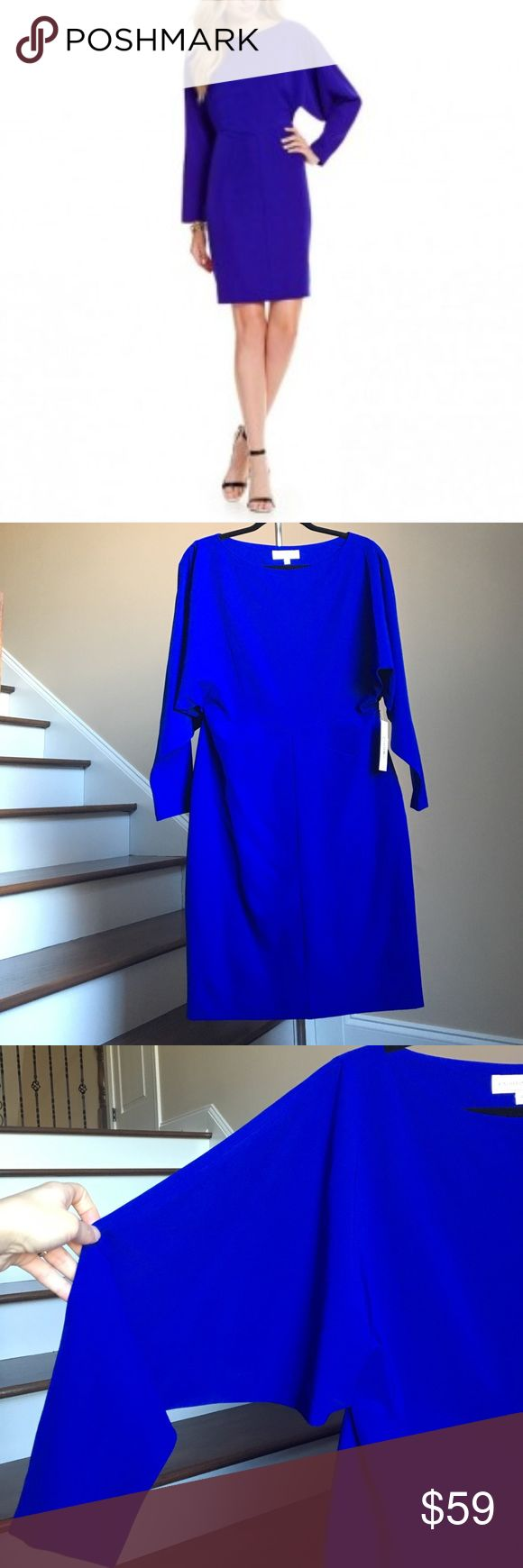 🆕 Katherine Kelly Dress Stunning bat-wing sleeve dress in cobalt color by Katherine Kelly. Concealed zipper closure on side, lined. Shell 90% Polyester, 10% Spandex. Lining 97% Polyester, 3% Spandex. 🚨Price firm unless bundled!🚨 Katherine Kelly Dresses
