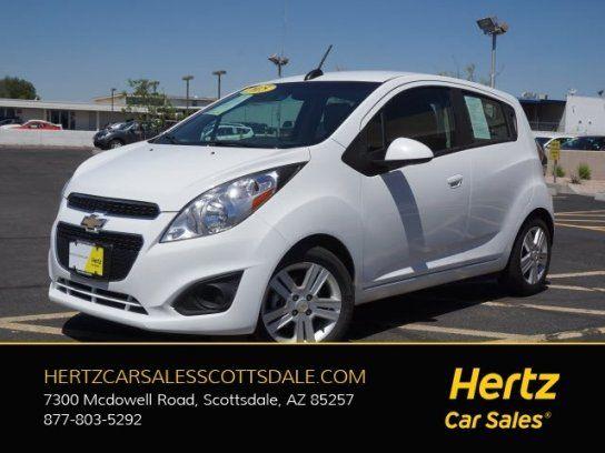 Hatchback, 2015 Chevrolet Spark LT with 4 Door in Scottsdale, AZ (85257)