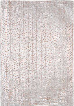8951 Coppertone - Mad Men Collection #rug #carpet #flatdown #flatweave #chenille #jacquard #woven #handfinished #copper #gold #silver #coppertone #flooring #madeinbelgium #madmen #louisdepoortere #white #glossy #glossycarpet #glossyrug