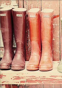 wellies for autumn walks