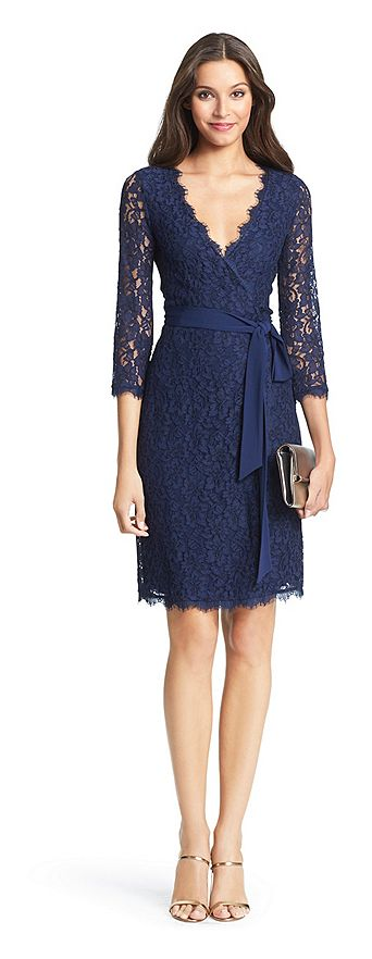 Diane von Furstenberg DVF Julianna Lace Wrap Dress - on #sale 30% off @ #Dvf #DianeVonFurstenberg