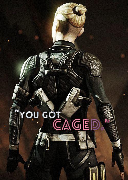 """Sergeant Cassandra Carlton """"Cassie"""" Cage."""