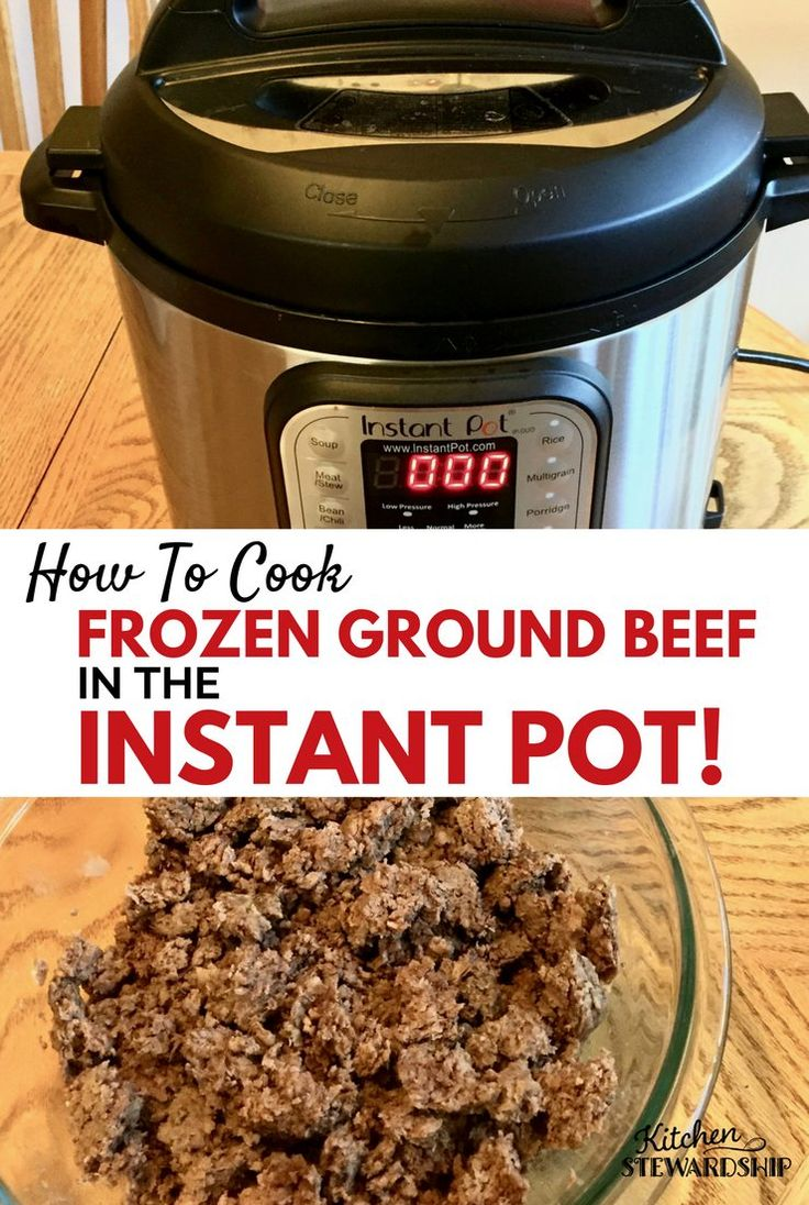 Brown Rice Risotto With Chanterelles How To Cook Frozen Ground Beef In The  Instant Pot 17
