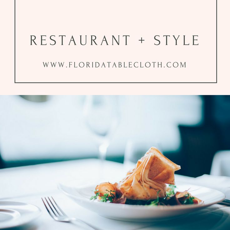 "RESTAURANT DECORATION  Do you know how to choose the right table linens for your business?  Table #linens play a relevant role in the ""meal experience"" in almost any kind of #restaurant and pieces as napkins, tablecloths, table runners, and table skirts are included.  First impressions are everything in the #restaurant industry. For luxurious places you could use white and cream #linens. These colors  never go out of style and they can fit into any #decor."