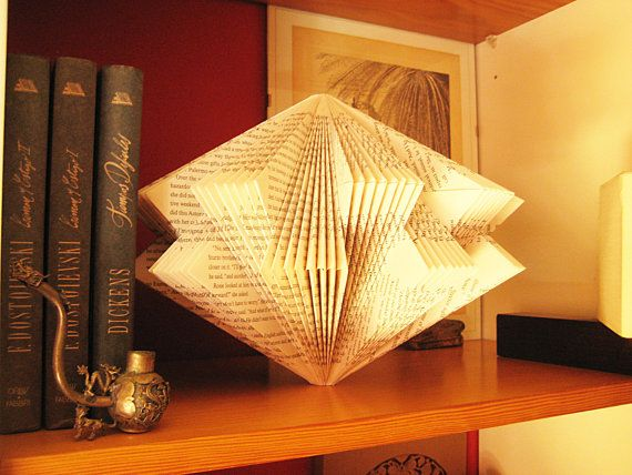 Art Star Book paper Sculpture altered Book by MalenaValcarcel