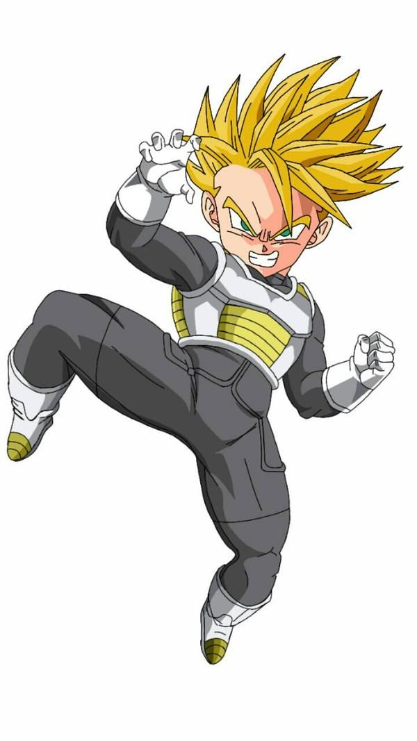 Kid Trunks By Edvardstas On Deviantart Dragon Ball Super Manga Anime Dragon Ball Super Dragon Ball Painting