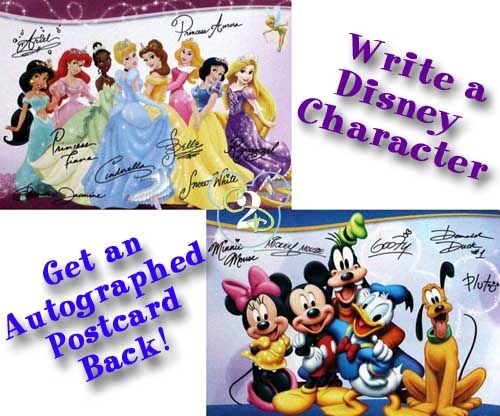 Did you know if you write a letter to a Disney character, you will get a postcard in return? It is a great way to keep the Disney magic alive and teach the kids how to write a letter.