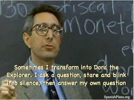 Teacher Humor/Jokes.Turning into Dora the Explorer @apollice @jdizzzle @mackthatcher @ktyn88