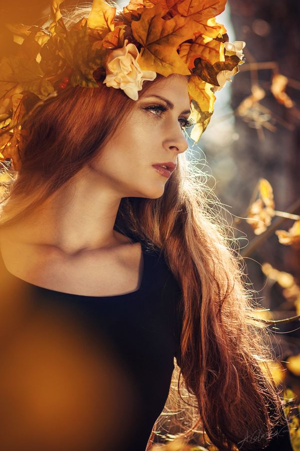 Priestess of Autumn II by Tikal-SH.deviantart.com on @deviantART