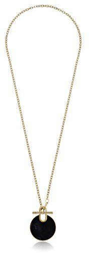 Michael Kors Gold-Tone Large Black Disc Pendant Necklace ... https://smile.amazon.com/dp/B0149F4FWU/ref=cm_sw_r_pi_dp_TIaIxbVRYDXAB