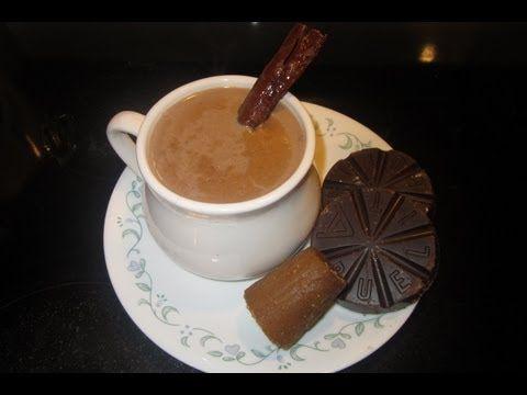 ▶ CHAMPURRADO DE CHOCOLATE (PREPARADO CON LECHE)- BEBIDAS CALIENTES aleliamada. - YouTube