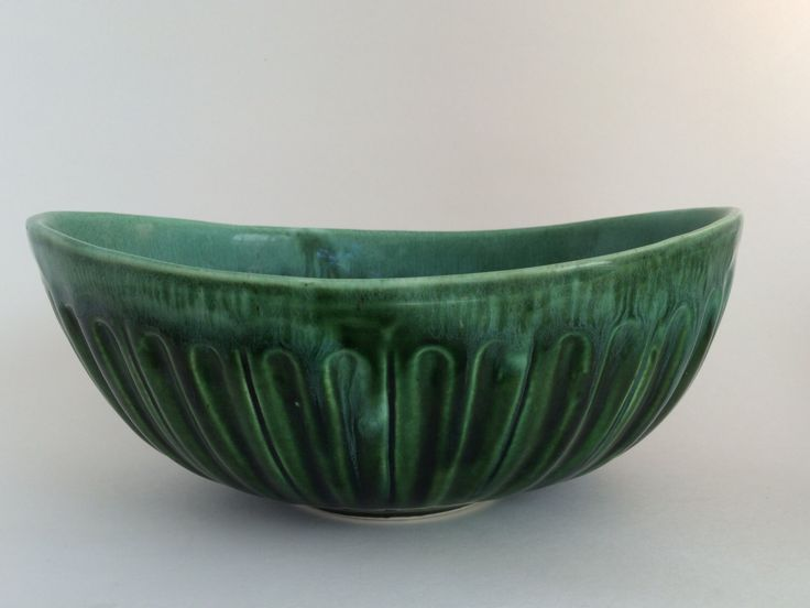 A personal favorite from my Etsy shop https://www.etsy.com/listing/491091740/vintage-green-serving-bowl-midcentury