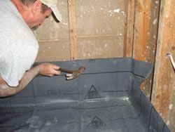 shopan2 Installing a Shower Pan Liner