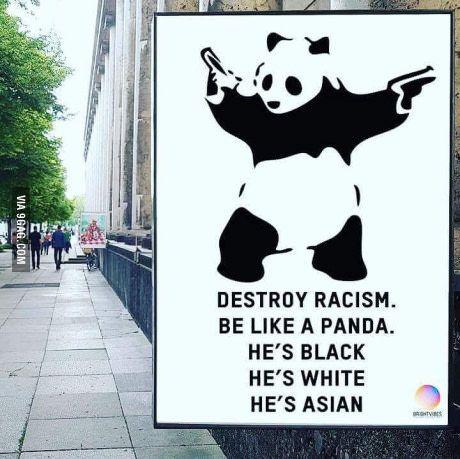 Let's be panda