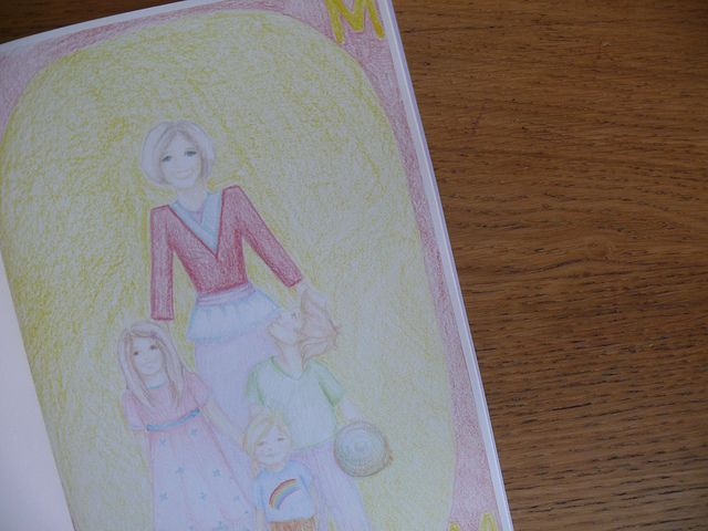 Waldorf ~ 1st grade ~ Letter: M ~ Mother ~ main lesson book