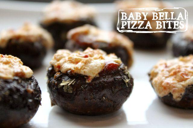Baby Bella Pizza Bites