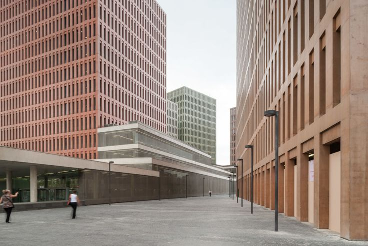 #Architecture in #Barcelona - #LawCourts by David Chipperfield Architects, b720 Fermín Vázquez Arquitectos