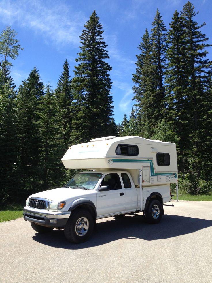 2003 Toyota Tacoma 4x4 V6 + 1994 Bigfoot  6-11 Import Truck Camper