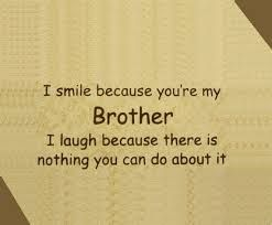 "Little brother quotes - Google Search--I don""t like the things you do but I love you                                                                                                                                                      More"