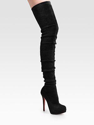Louboutin Louboutin: Knee High Boot, Christian Louboutin
