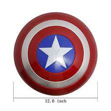 Avengers Marvel Captain America PVC Shield Superhero Light Emitting Weapon Gift