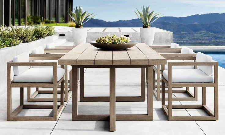First Look: Barlas Baylar Makes His Outdoor Debut for RH Photos   Architectural Digest