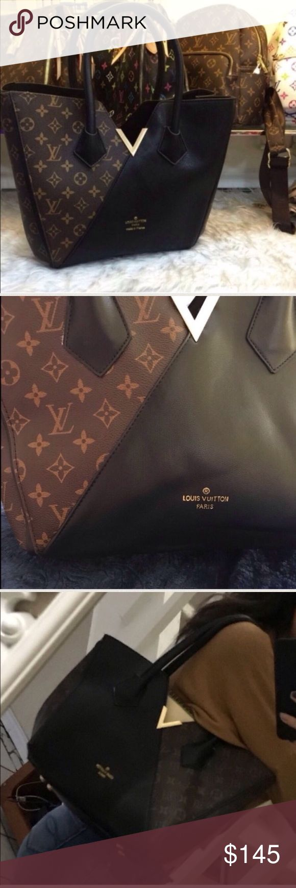 Louis Vuitton large purse accept reasonable offers.                                                          15.4 x 11.4 x 5.9 inches  (Length x Height x Width)  - Monogram canvas - 1 central zipped compartment - Transversal snap hook as closing system - Golden color metallic pieces - 4 bottom studs Louis Vuitton Bags Satchels