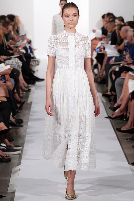 Oscar de la Renta Spring 2014 Ready-to-Wear Collection Slideshow on Style.com #PFW