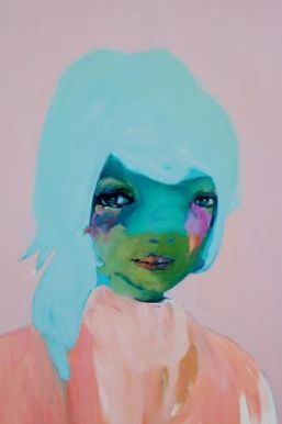 Artist Abbey McCulloch – I love the emotion and color palette!