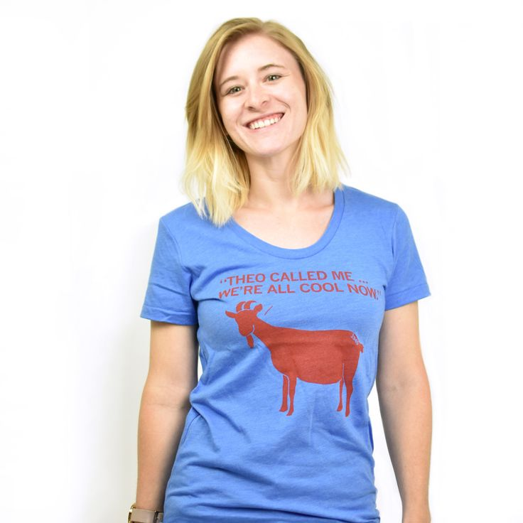 Chicago Cubs Goat Curse Tshirt by RAYGUN, in Des Moines, Iowa