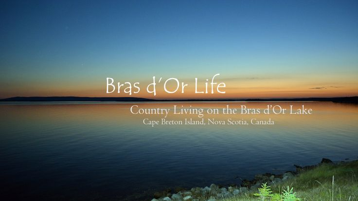 Follow Bras d'Or Life on Facebook, Twitter, & YouTube.