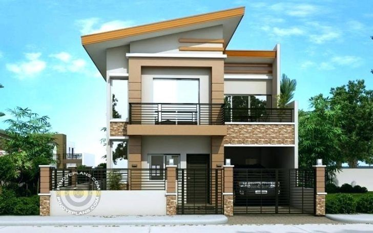 Latest House Plans And Designs 2 Story House Design House Front Design Two Story House Design
