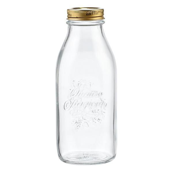 Quattro Stagioni 34 Oz Glass Bottle Glass Milk Bottles Glass Bottles Bottle