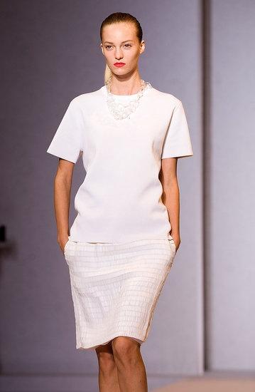 Nicole Farhi Spring 2012 via Fashionologie