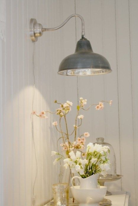 I love this light, it reminds me if the ones outside of old general stores. This would be a great reading light for the bedroom or if paired with another it could serve as wall scones for a rustic decor.