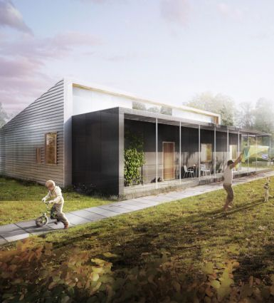 Upcycle House, LENDAGER ARKITEKTER, world architecture news, architecture jobs