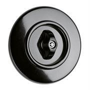 interrupteur rotatif THPG Bakélite noire