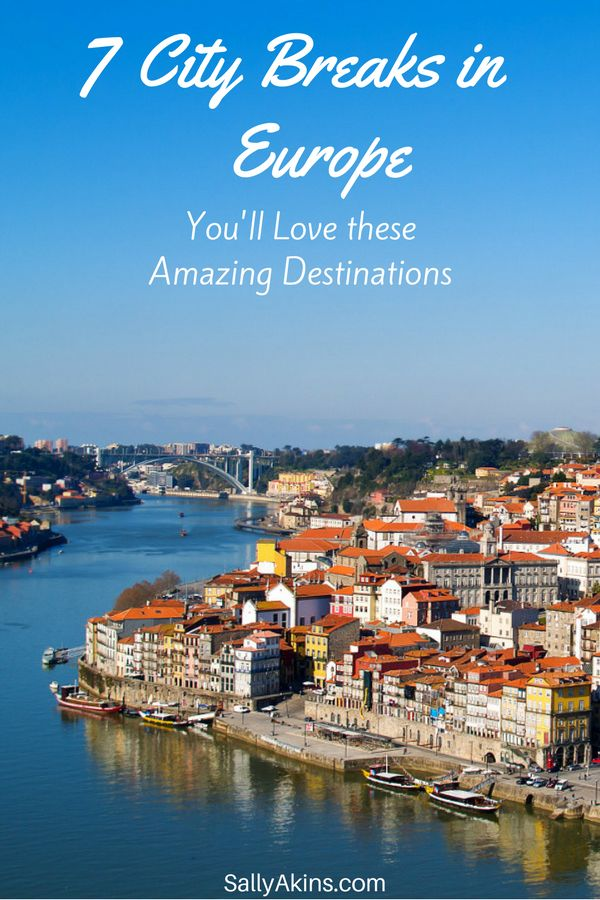 Do your #travel plans include a #city break in # Europe? Here are seven destinations that are perfect for exploring on a city break. They're all easy to get to, and have lots to see and do. Click through to find out about Porto, Helsinki and five other European cities. via @sallyakins