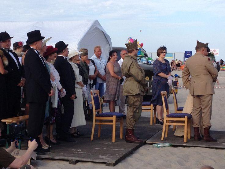 Ślub na Plaży na Helu :) z fantazja, klasą i przytupem.