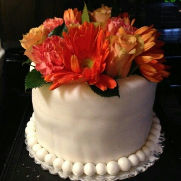 Fresh Flower Cake Ideas