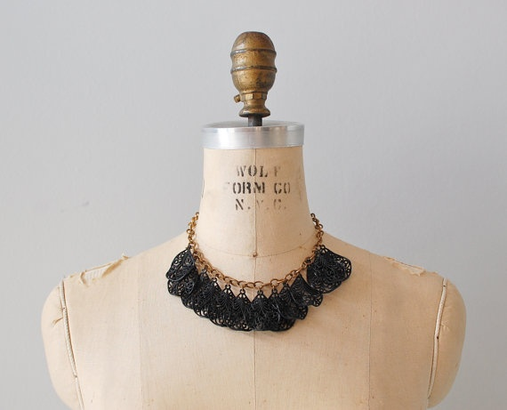 1. something vintage (1940s celluloid necklace) #modcloth #wedding
