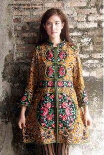 batik amarillis's ildiko long jacket 2