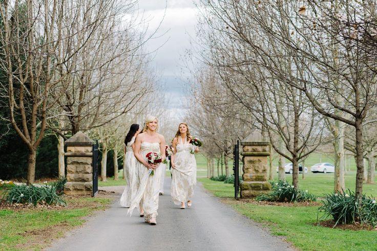 Bridesmaids  Sydney Polo Club Winter Wedding. Photography: Sutoritera