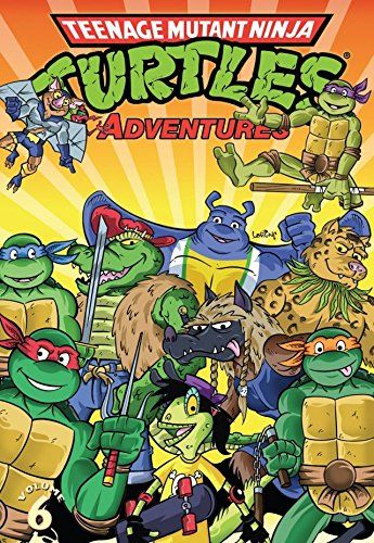 "Teenage Mutant Ninja Turtles Adventures Vol. 6:   The all-ages action continues is the latest collection of TMNT Adventures! This volume introduces the Mighty Mutanimals in their first three-issue series, and also includes Adventures issues #21 and 22, featuring the stories ""Space Junk Face Funk Cyber Punk Thief"" and ""Rat Trap!"" Collects issues #21-24 of the Archie series."