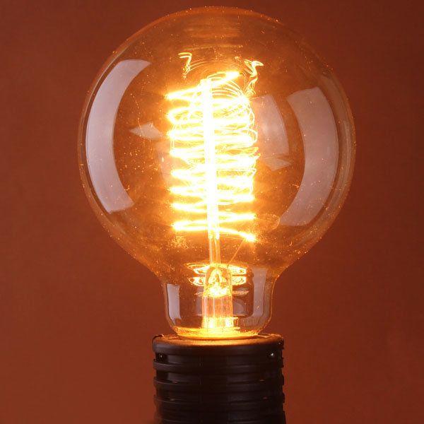 B22 60W Incandescent Bulb 110/220V G125 Edison Tungsten Light Bulb