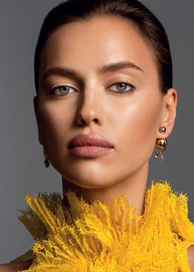 Ирина Шейк в Glamour Russia (Интернет-журнал ETODAY)