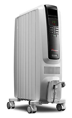 DeLonghi TRD40615E Full Room Radiant Heater 1500 watts of heating power, silent operation, Best for medium to large rooms that need constant heat in the colder seasons.High quality, patented steel assembly - permanently sealed oil reservoir - never needs refilling.Up to 40% more heat surface for faster heat up  http://dailydealfeeds.com/shop/delonghi-trd40615e-full-room-radiant-heater/