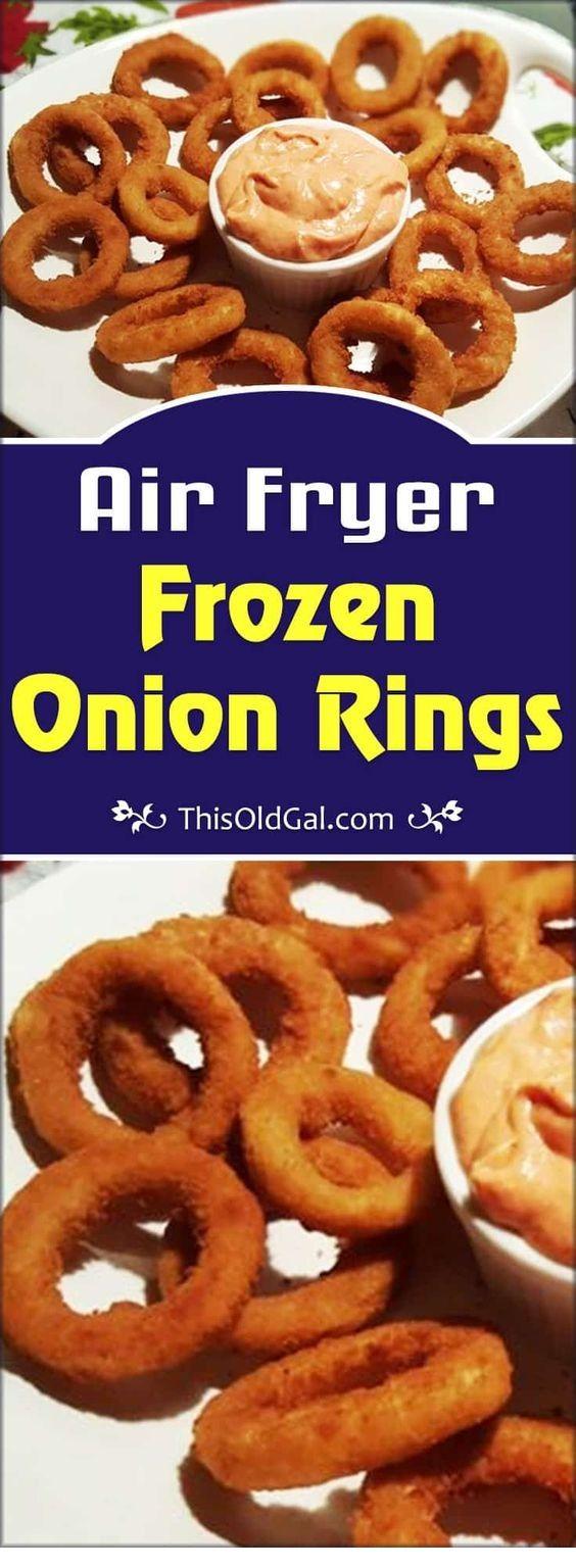 Air Fryer Frozen Onion Rings Air fryer recipes healthy