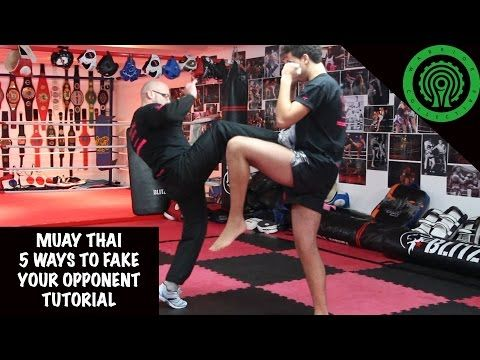 Muay Thai 5 Ways to Fake your Opponent Tutorial - YouTube