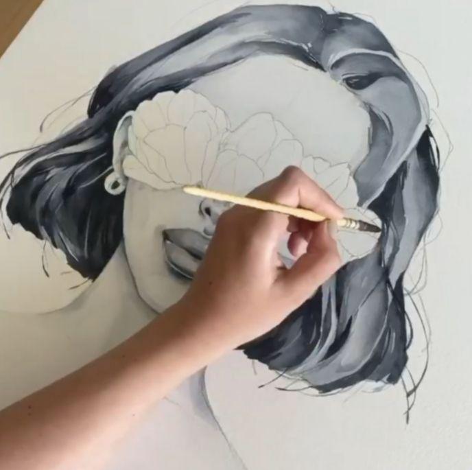 12 Drawing Art Videos Watercolour Watercolor Paintings